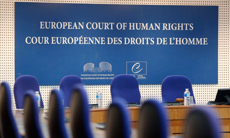 Human rights of ex-president of Supreme Court were violated according to Strasbourg post's picture