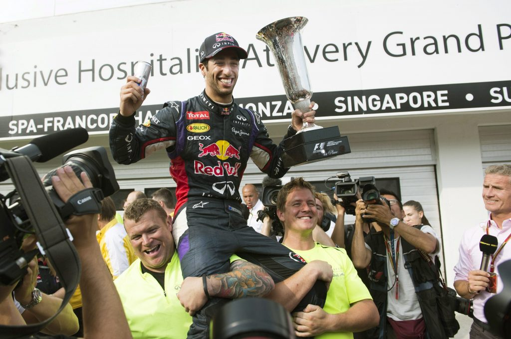 Ricciardo Triumphs at Eventful Hungarian Grand Prix post's picture