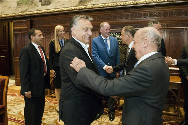 Viktor Orbán Met with FINA President post's picture