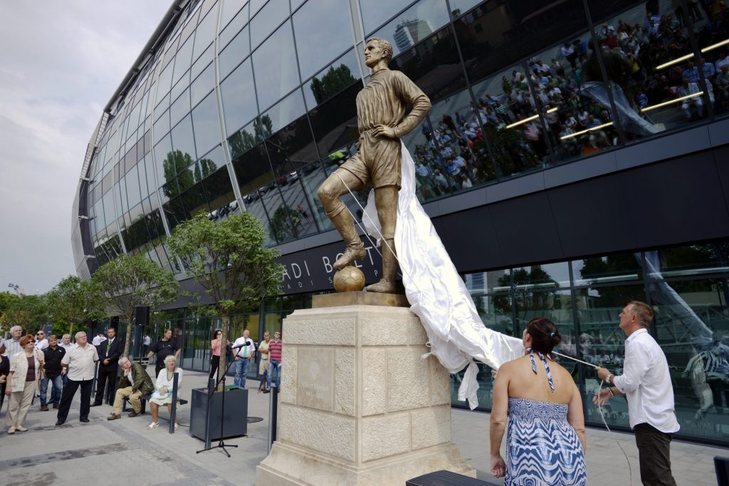 Statue of Footballer Flórián Albert Unveiled post's picture