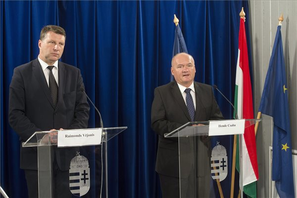 Hungary and Latvia Sign Military Cooperation post's picture