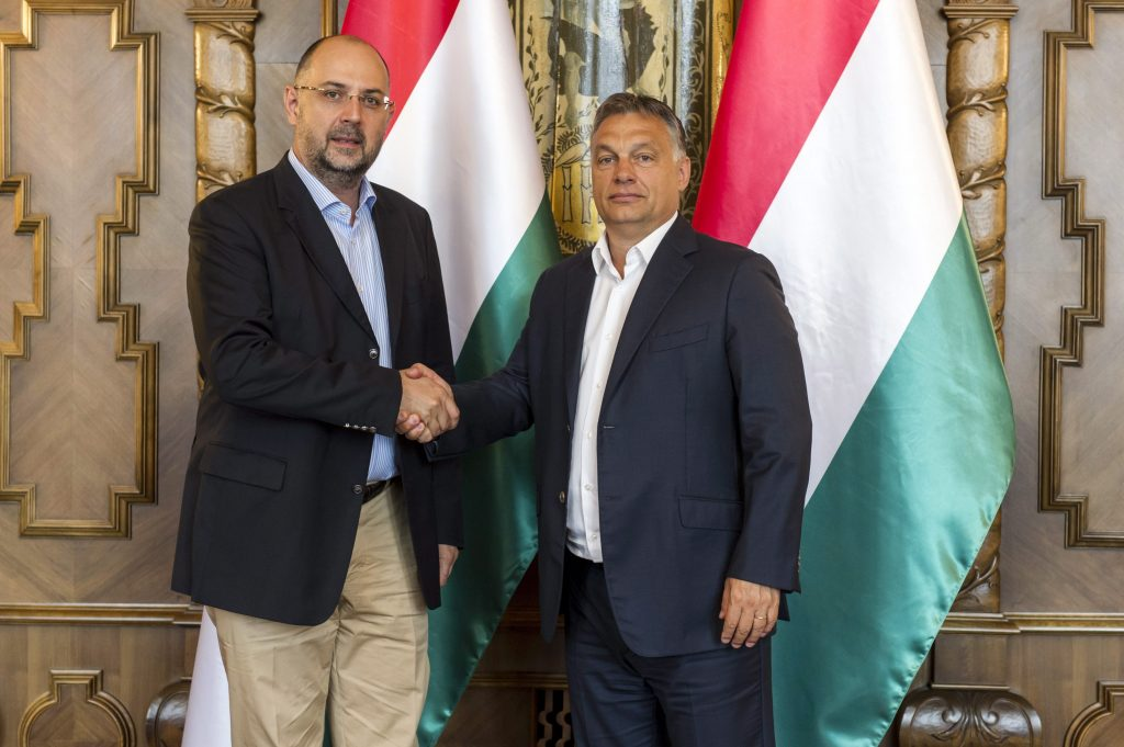 Viktor Orbán met with RMDSZ President post's picture