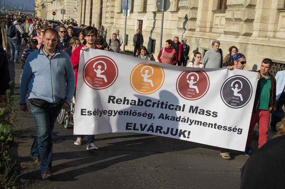 First Rehab Critical Mass for Disabled People post's picture