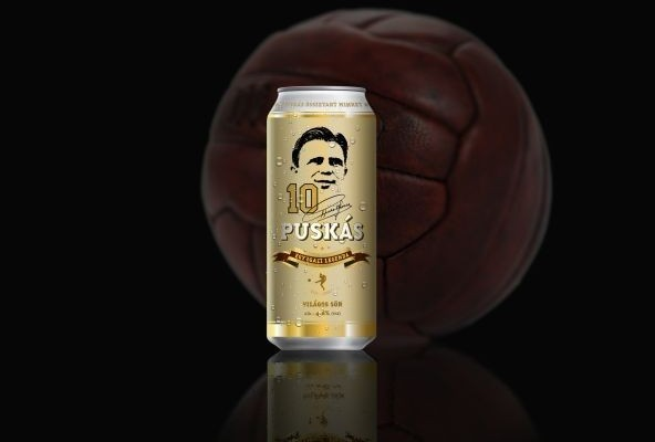 Puskás Beer to Hit the Shelves in October post's picture