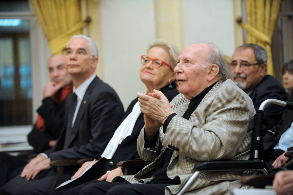 Imre Kertész Greeted On His 85th Birthday post's picture