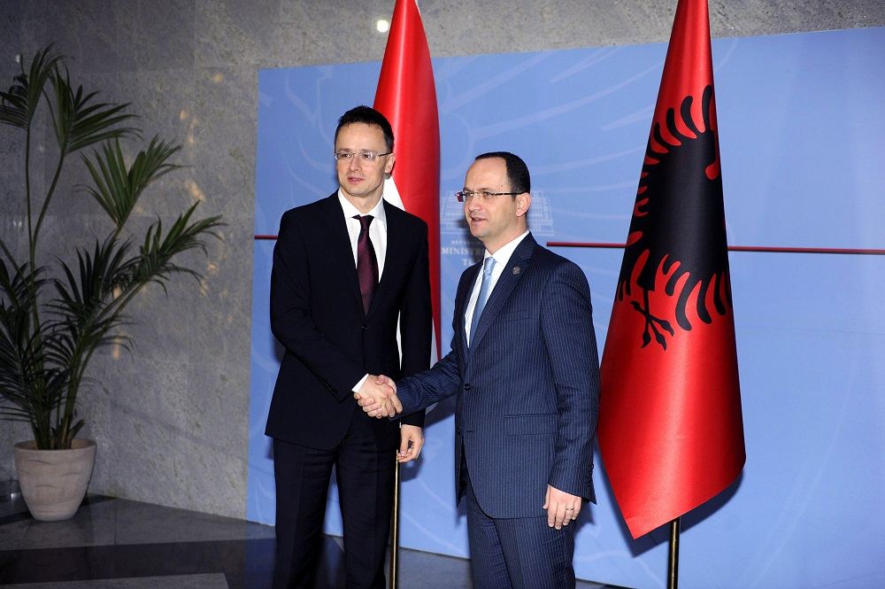 Hungary To Boost Economic Ties With EU Candidate Albania post's picture