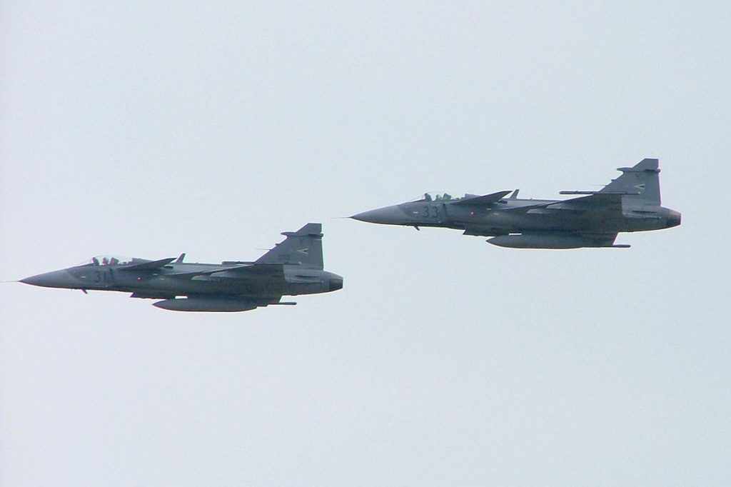 Hungarian Gripens Intercept Three Russian Planes in Baltics post's picture