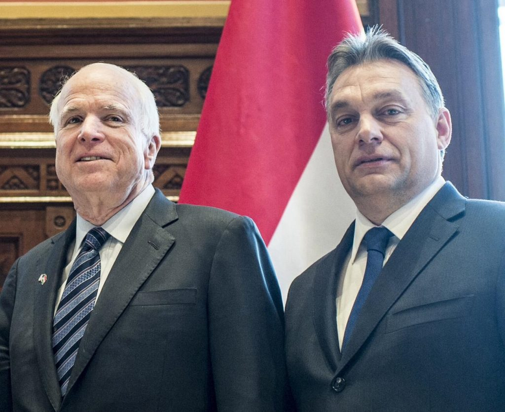 John McCain And Viktor Orbán – International Reactions post's picture