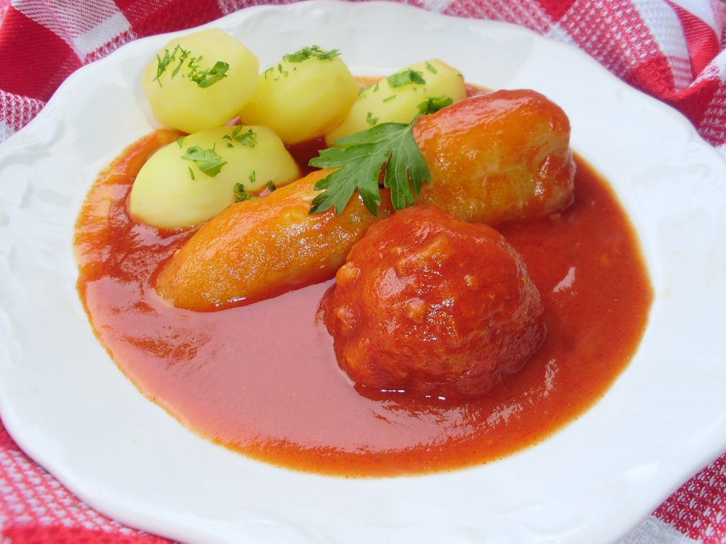 Cook Hungarian – Stuffed Green Peppers With Potatoes post's picture