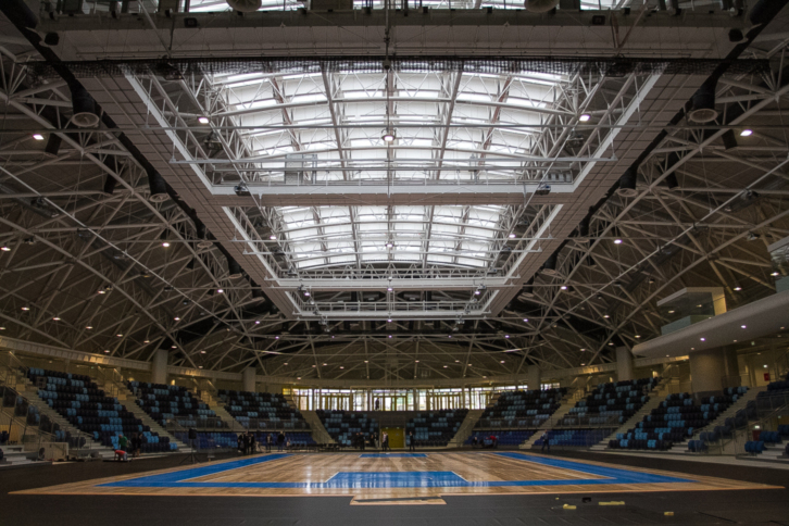Budapest's 'Spike Hall' Sports Complex Finally Opens post's picture