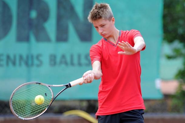 Hungarian Máté Valkusz Europe's Best U-16 Tennis Player post's picture