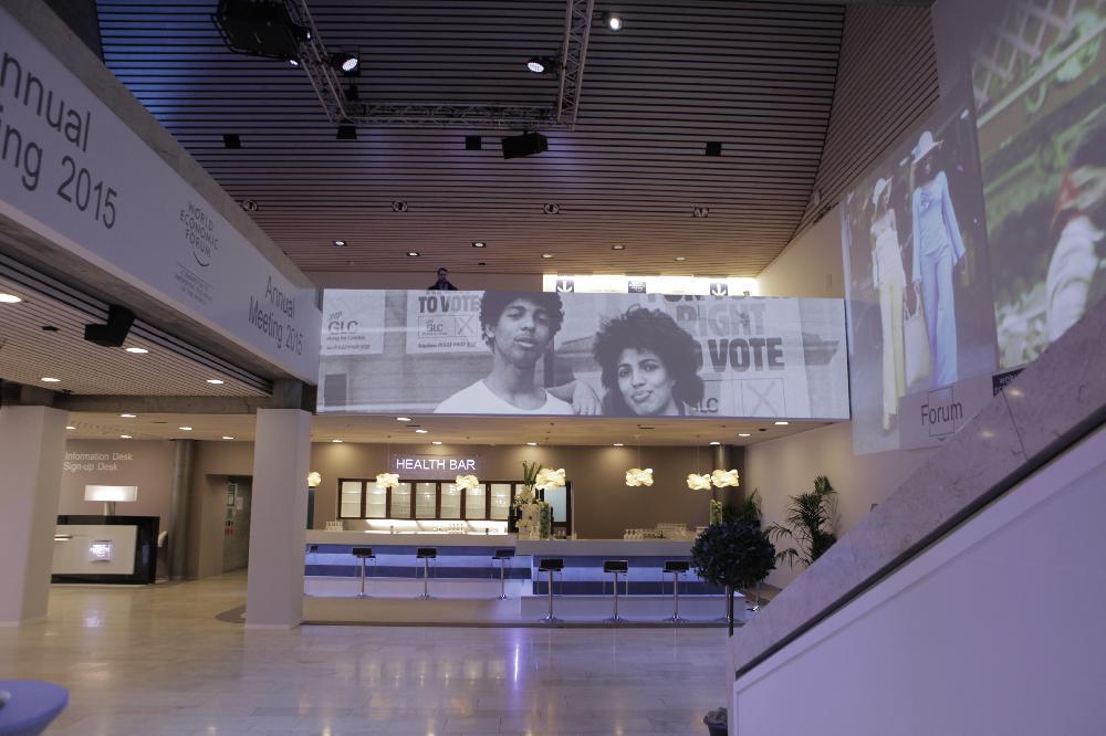 Davos Forum Exhibits Hungarian Designer's Artwork post's picture