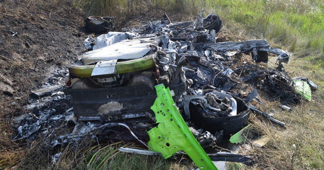 Police Release Video Of 330kph Lamborghini Crash On M7 Motorway post's picture