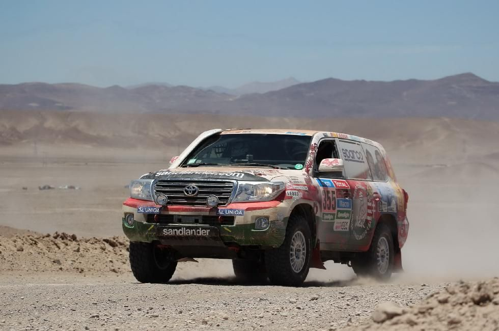 Dakar Rally: End Of The Line For Hungarian Team After Polluted Fuel Ruins Toyota's Engine post's picture