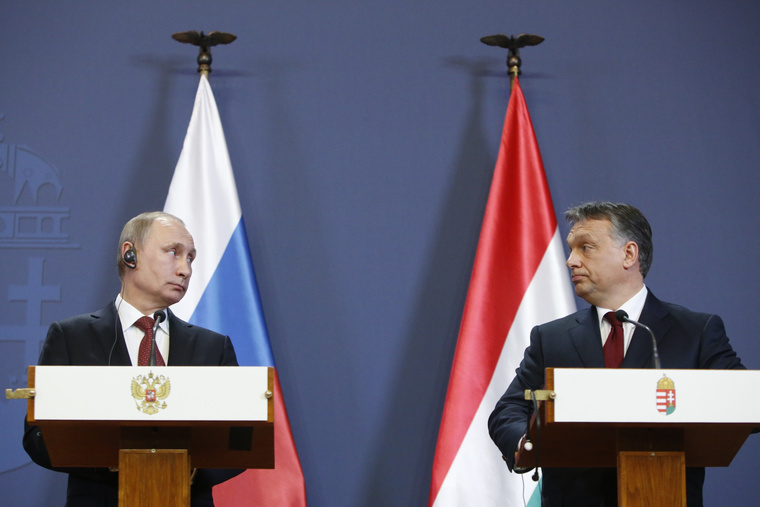 Orbán-Putin Meeting: Agreement Reached On Long-Term Gas Supply Contract post's picture