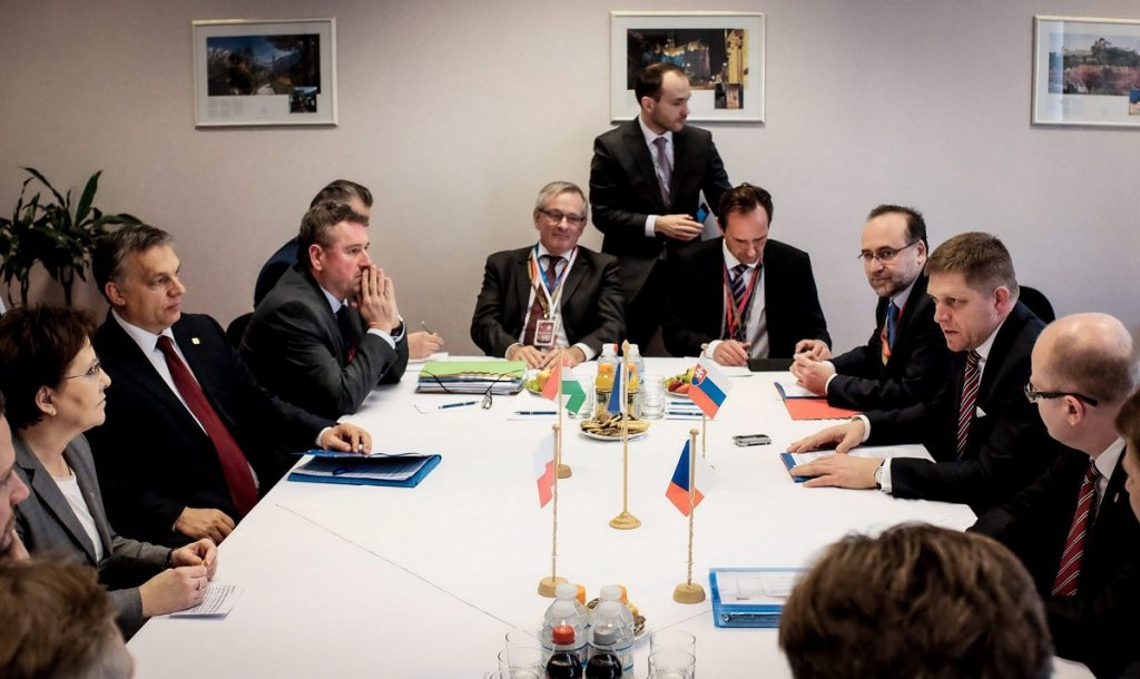 Visegrad Group: Premiers Hold Talks In Optimistic Atmosphere After Minsk Agreement post's picture