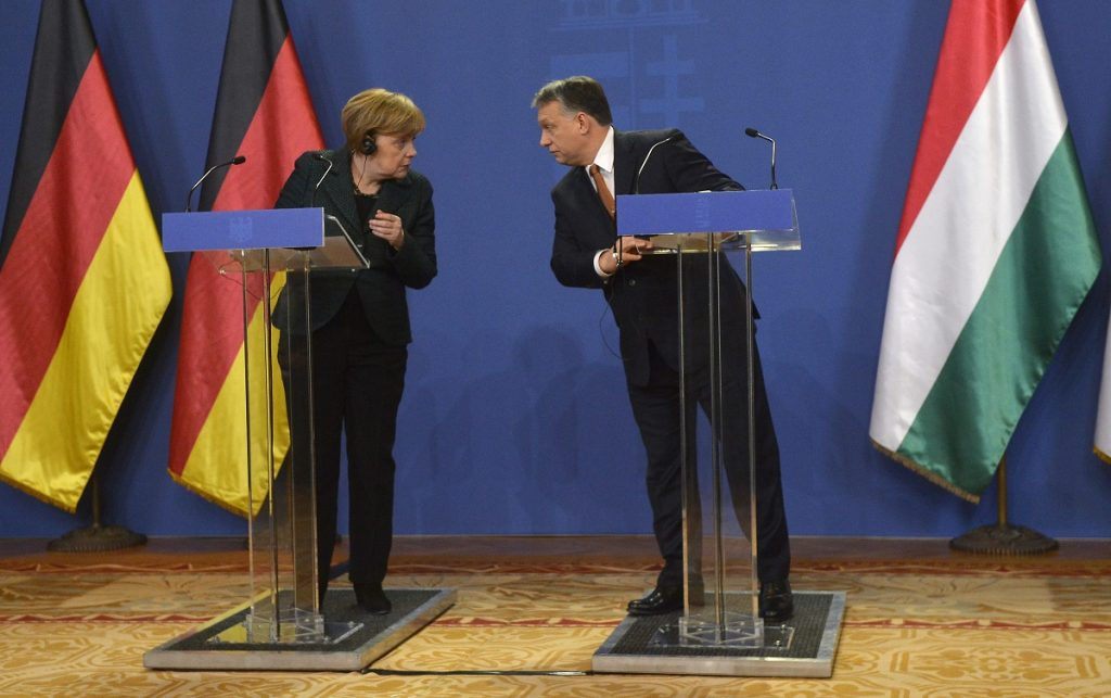 Gallery – German Chancellor Angela Merkel's Visit To Budapest post's picture