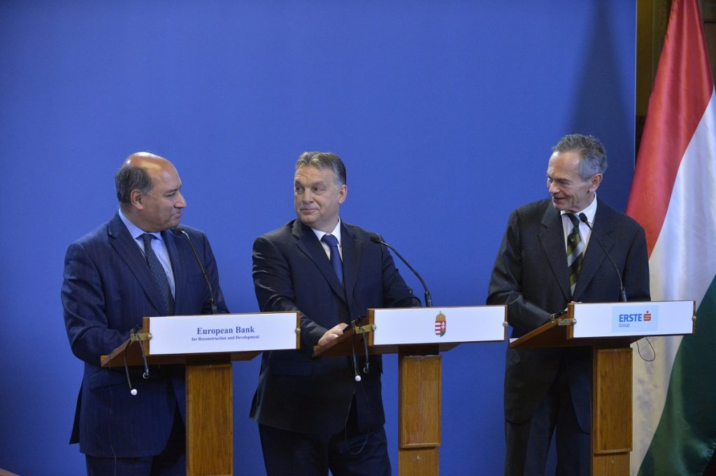 Hungary To Acquire Stake In ERSTE Bank As PM Announces Reduction Of Bank Levy post's picture