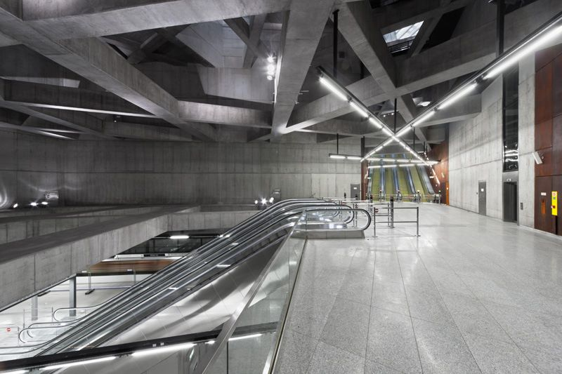 Stations On M4 Metro Line Win ArchDaily's Building Of The Year Award post's picture