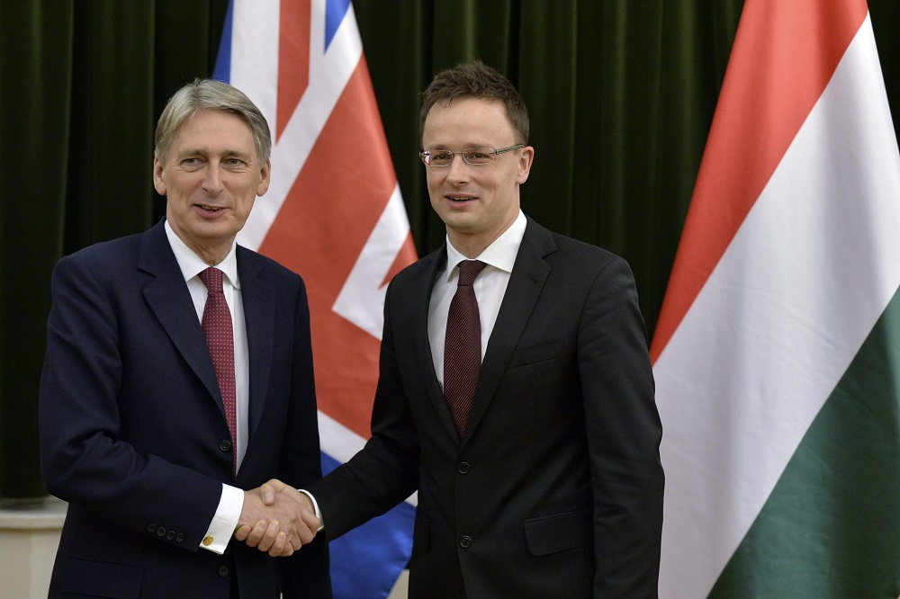 UK Foreign Secretary Philip Hammond On Official Visit To Budapest post's picture