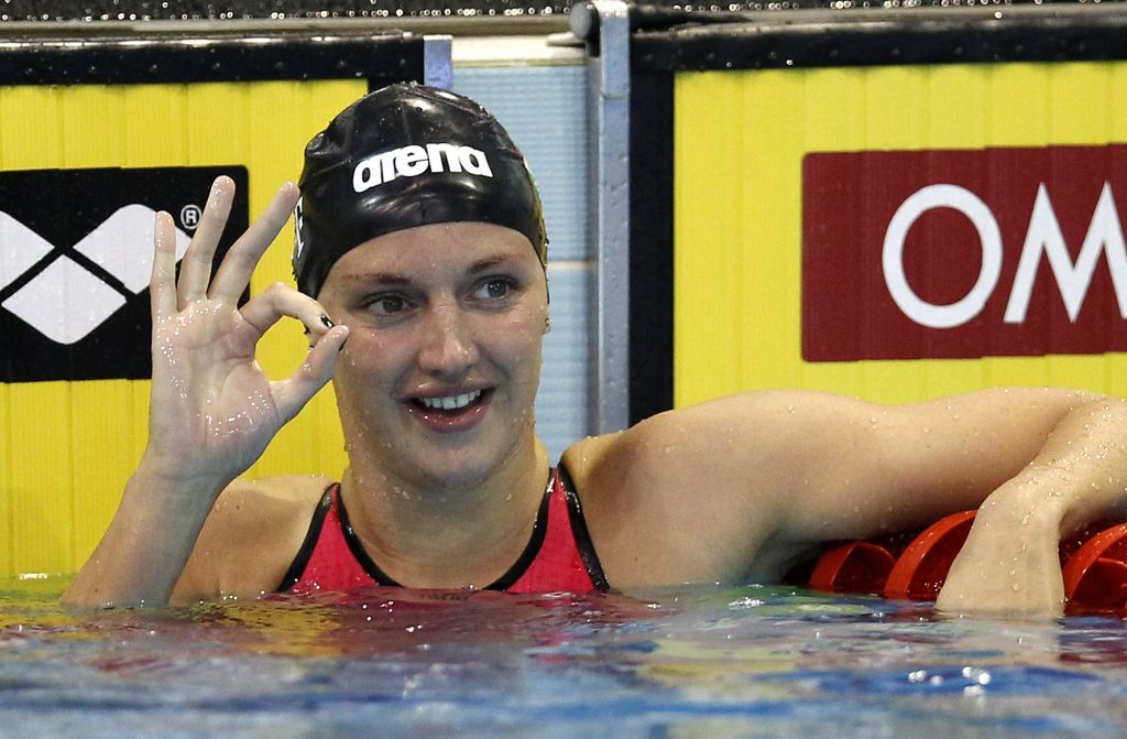 Katinka Hosszú Wins Her 250th Gold at the FINA World Cup post's picture