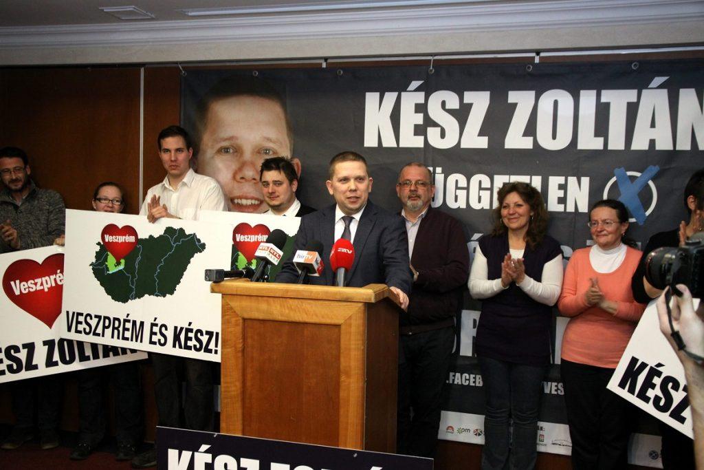 Veszprém: Left-Wing Opposition Parties Hail Zoltán Kész's By-Election Victory post's picture