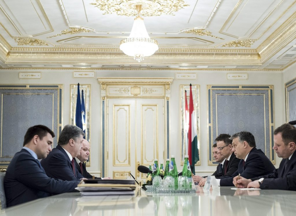 Poroshenko: Ukraine Grateful To Hungary For Support And Humanitarian Assistance post's picture