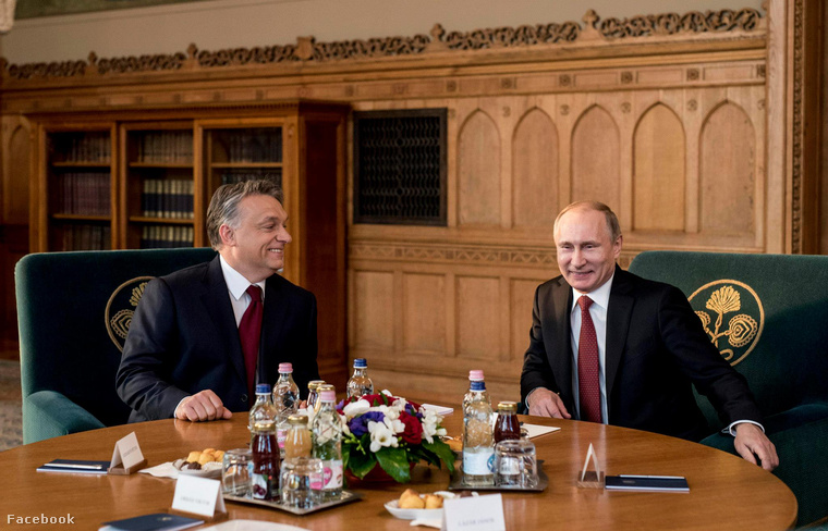 Russian President Vladimir Putin Visits Budapest – Gallery! post's picture