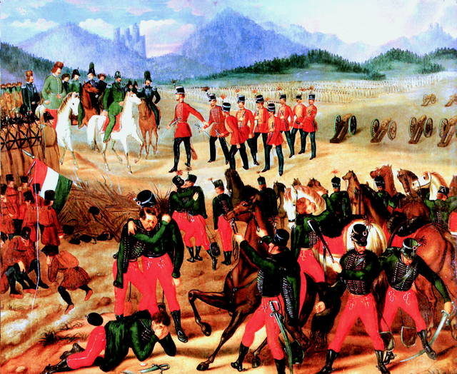 Capitulaton_of_Hungarian_Army_at_Világos_1849