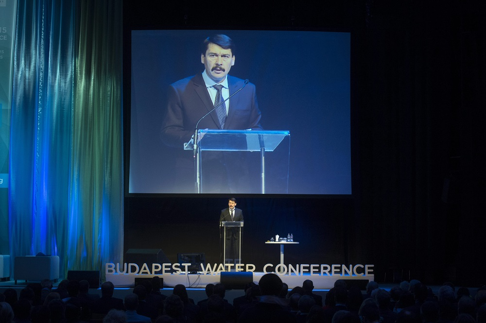 President Áder Calls For Water Protection At EWA Conference In Budapest post's picture