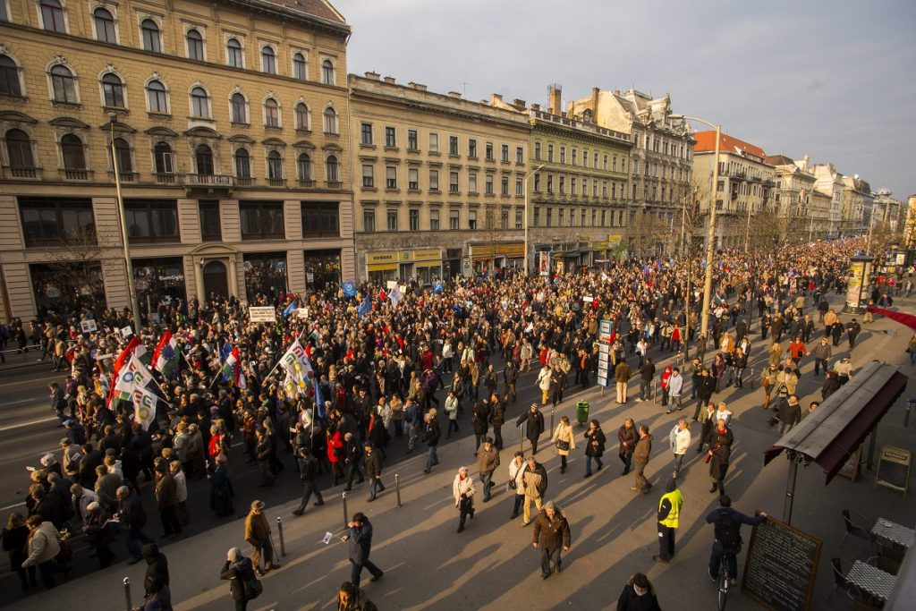15 March – Anti-Government Protesters Rally And Announce Referendum Questions post's picture