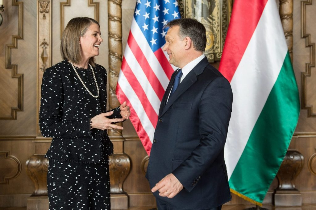 Prime Minister Orbán Holds Talks With US Ambassador Colleen Bell post's picture