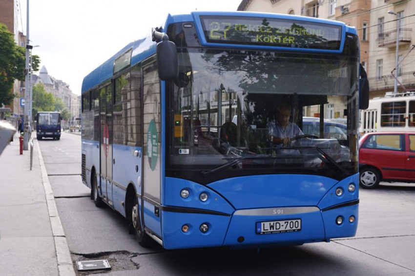 Sixteen New Midibuses To Replace Budapest's Worn-Out Fleet This Year post's picture