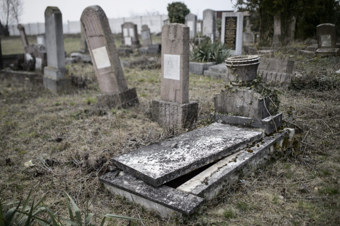"""Vandals Cause """"Unprecedented Damage"""" In Northern Town's Jewish Cemetery post's picture"""
