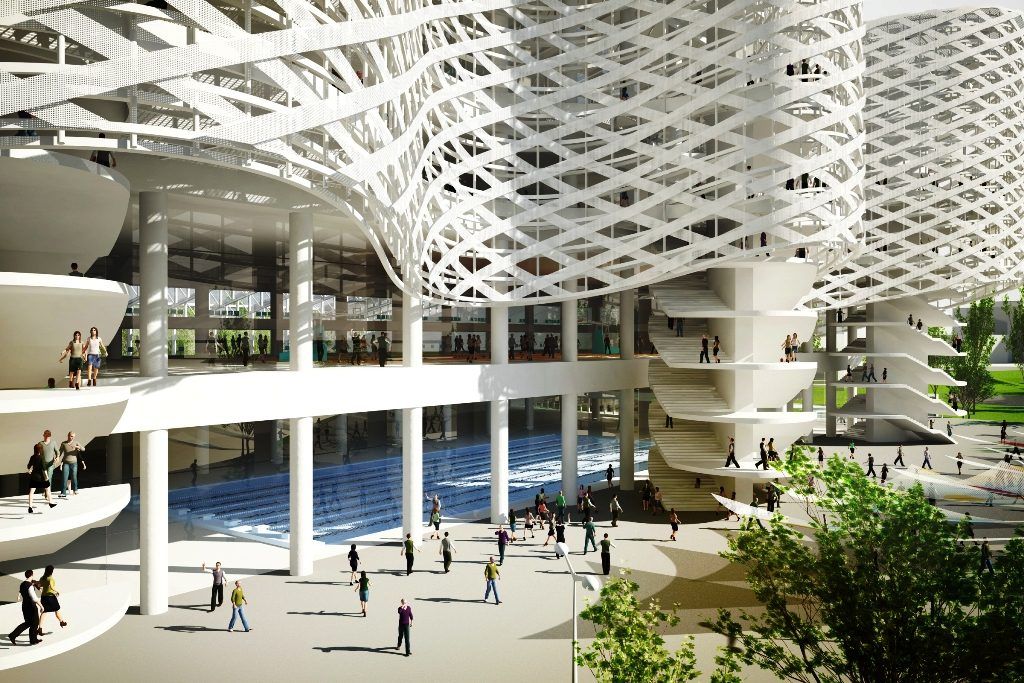 Parliament Approves Contruction Of Spectacular Swimming Complex For 2017 Aquatics Championships post's picture