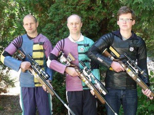 Running Target Shooting: Hungarian Team Wins Bronze At Arnhem EC post's picture