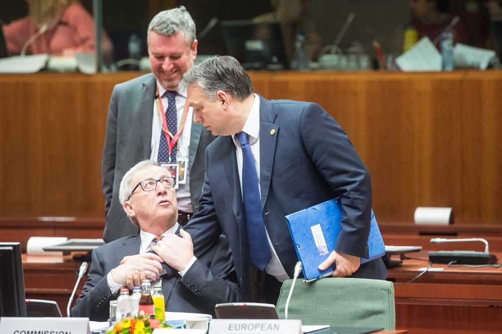 Juncker: No Place For Orbán In the EPP Anymore post's picture