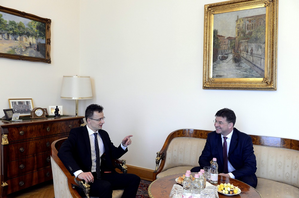 Slovakia's Deputy PM-Foreign Minister Holds Talks In Budapest post's picture