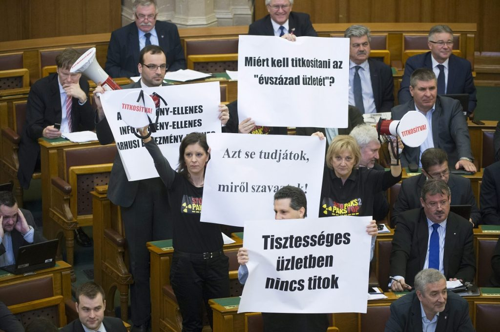 Opposition Attacks Ruling Parties As Parliament Classifies Paks Upgrade Data For 30 Years post's picture
