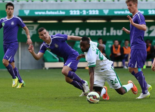 Football: Ferencváros 2 Újpest 0 At Full-House Match post's picture