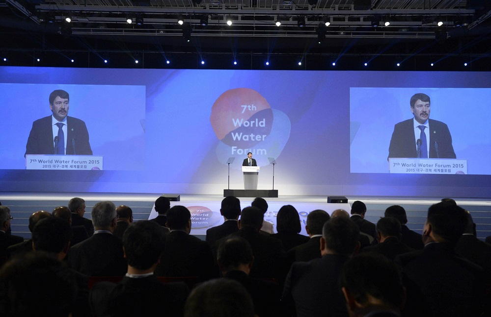 Hungary's President Addresses World Water Forum In South Korea post's picture