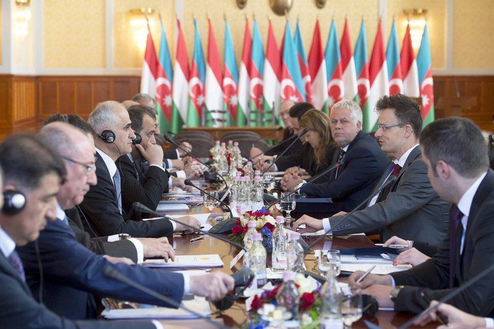 Hungary Eyes Azeri Gas As Intergovernmental Commission Holds Meeting In Budapest post's picture