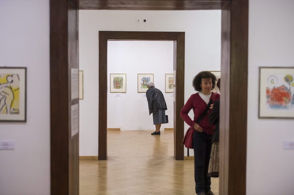 Marc Chagall's Lithographs And Sketches Exhibited In Pécs post's picture