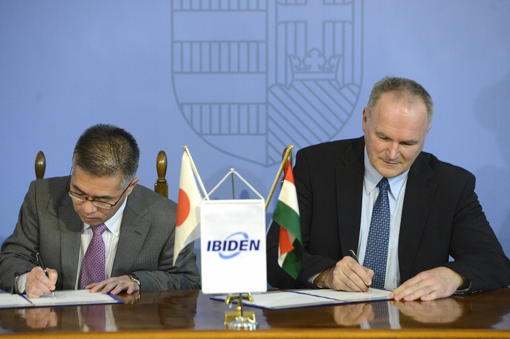 Government Signs Cooperation Agreement With Japanese Car-Parts Maker Ibiden post's picture