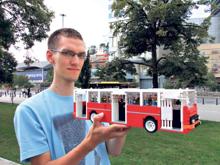 Polish LEGO Builder Reconstructs Hungary's Legendary Ikarus Bus – Gallery! post's picture