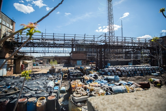 Toxic Waste In Budapest: Removal Of 1000 Barrels Of Dangerous Material From Chemical Plant Begins post's picture
