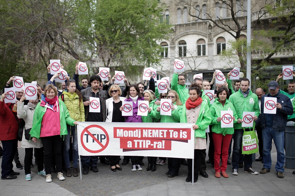 Hungarian Green Party LMP Joins Global Protest Against TTIP And CETA Plans post's picture