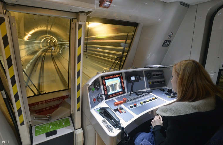 Budapest's M4 Metro To Operate In Driverless Mode From Monday post's picture