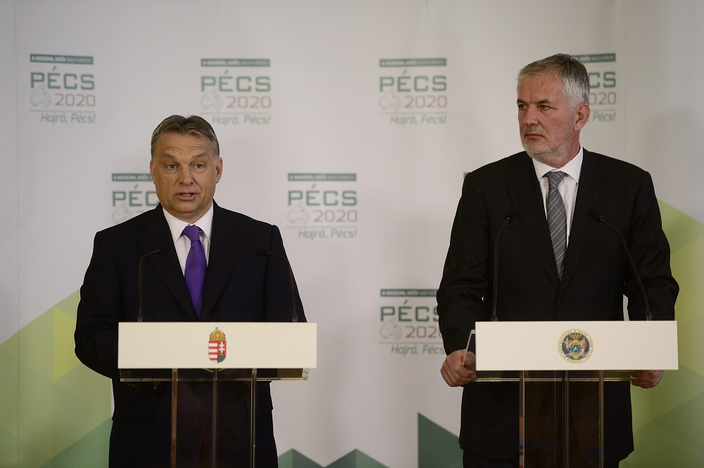 "Pécs Joins ""Modern Cities Scheme"" As PM and Mayor Sign Cooperation Agreement post's picture"
