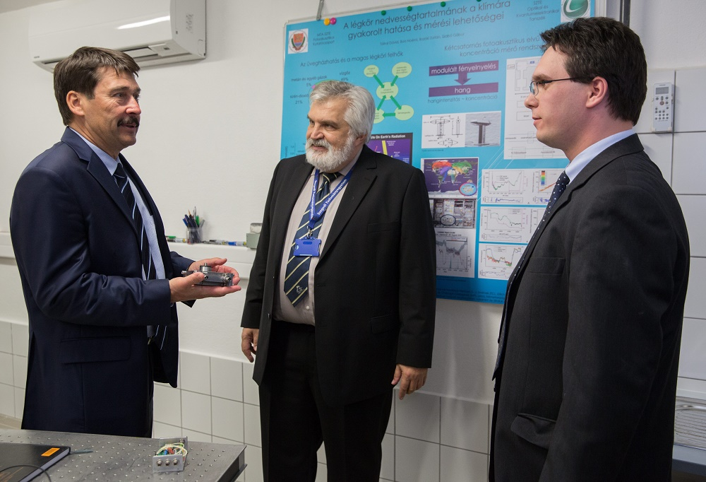 President Áder Visits Szeged University And Urges Joint Effort To Combat Climate Change post's picture